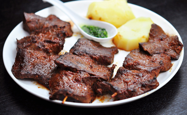 ペルーの伝統料理~アンティクーチョ~