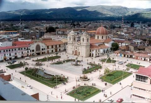 ペルーの町 ワンカヨ