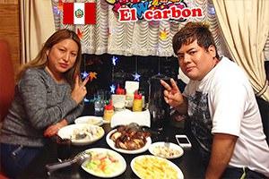 夫婦 カップル ペルー料理